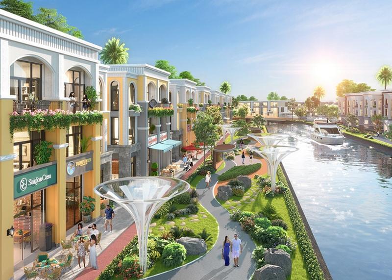 Nhà phố, biệt thự sinh thái đô thị vệ tinh đón sóng đầu tư