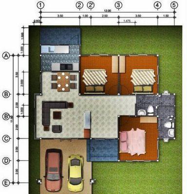 Mẫu thiết kế biệt thự mini đẹp, hiện đại và tiện nghi