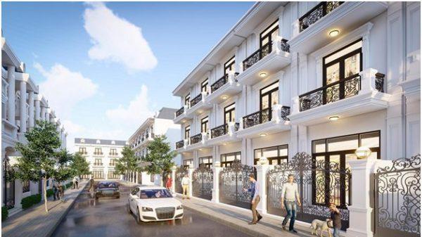 Nhà phố thương mại thu hút các nhà đầu tư.