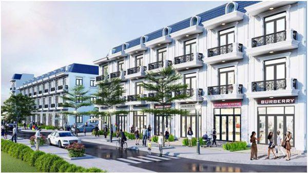 Nhà phố thương mại - Biệt thự kiến trúc châu Âu tại Phương Nam River Park.