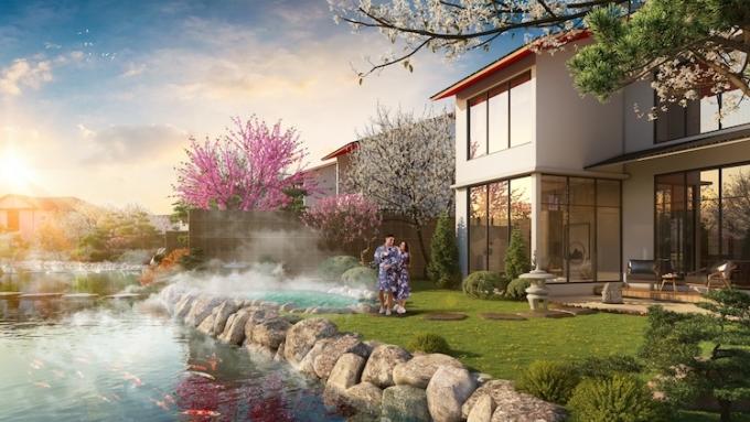 Suối khoáng nóng Quang Hanh mang lại nhiều giá trị cho sức khỏe.