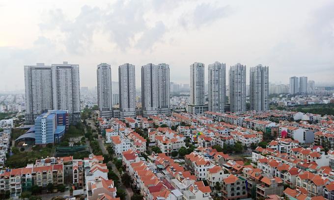 Thị trường nhà phố, biệt thự và căn hộ khu Nam TP HCM